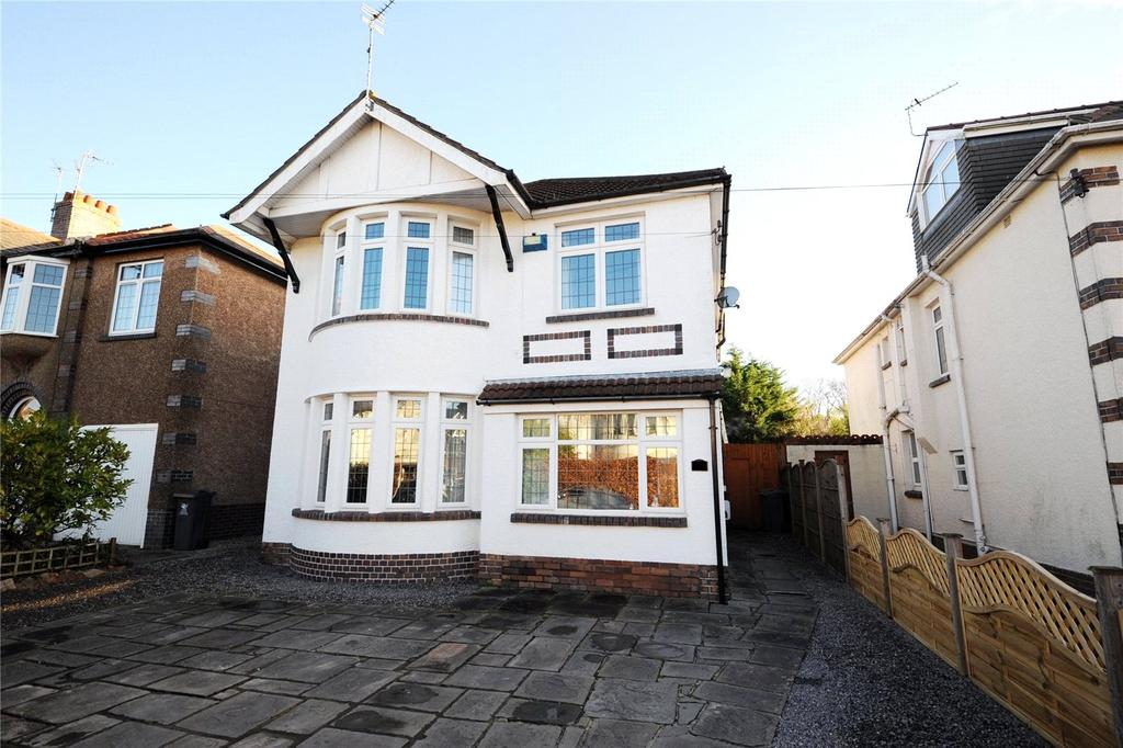 4 Bedrooms Detached House for sale in Celyn Grove, Cyncoed, Cardiff, CF23