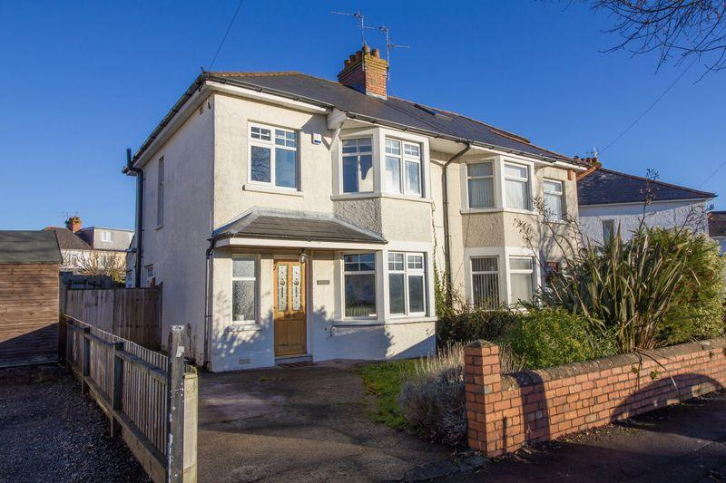 3 Bedrooms Semi Detached House for sale in Mountjoy Avenue, Penarth