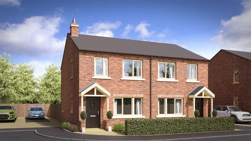 3 Bedrooms Semi Detached House for sale in Ashton Lane, Ashton Hayes