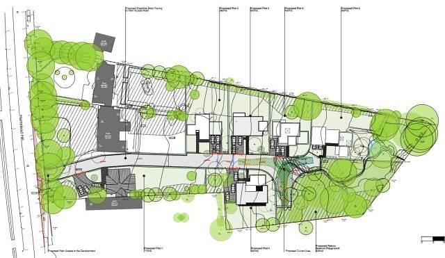 Site Plan Hamstead