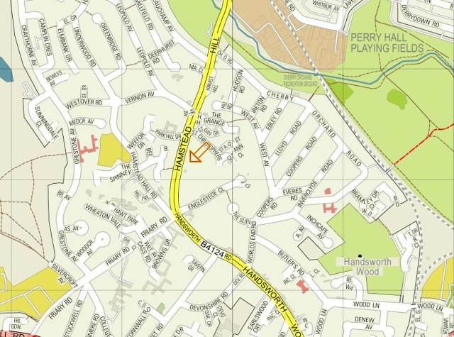 Location Hamstead