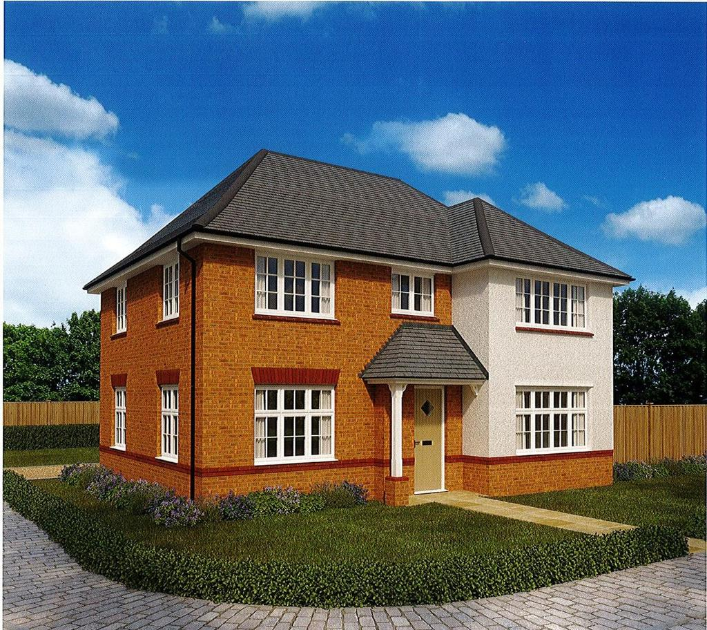 4 Bedrooms Detached House for sale in Carnegie Court, Park View, Bassaleg