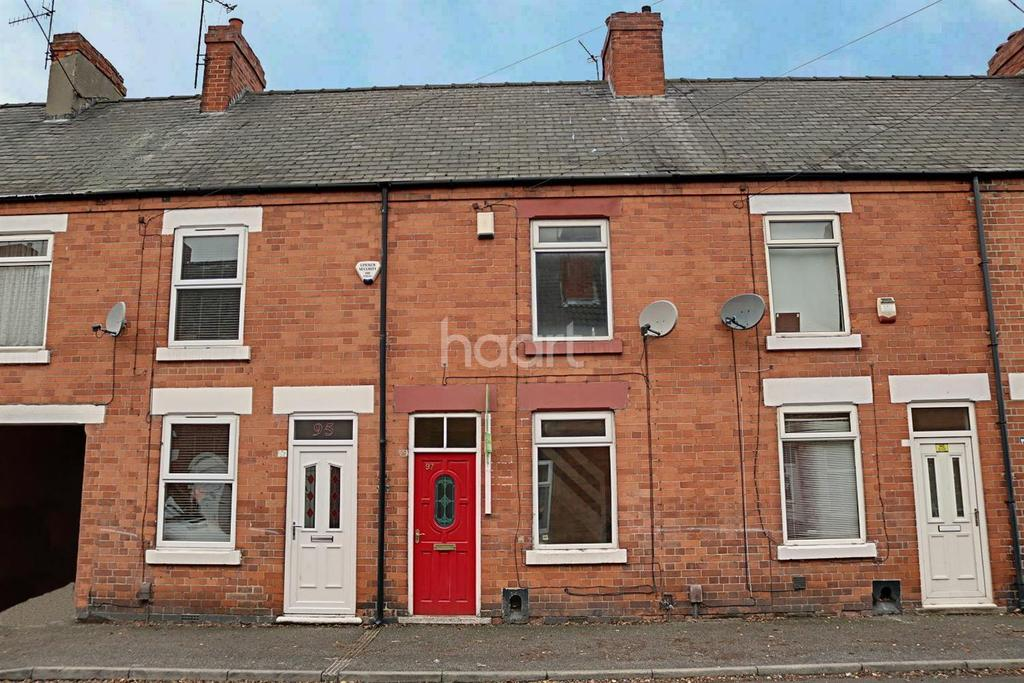 2 Bedrooms Terraced House for sale in Carlingford Road, Hucknall