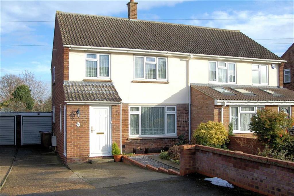 3 Bedrooms Semi Detached House for sale in Turpins Way, Baldock, Hertfordshire