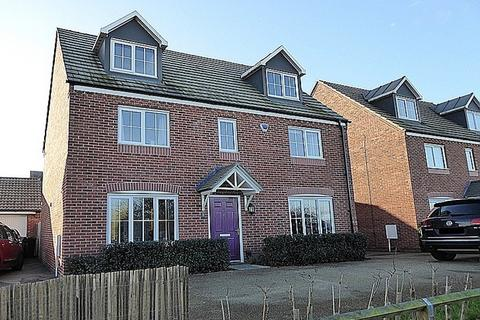 5 bedroom detached house for sale - Mayfly Road, Dragonfly Meadows, Northampton, NN4