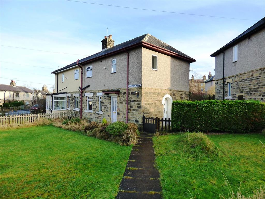 2 Bedrooms Semi Detached House for sale in Carlton Walk, Shipley, BD18 4NP