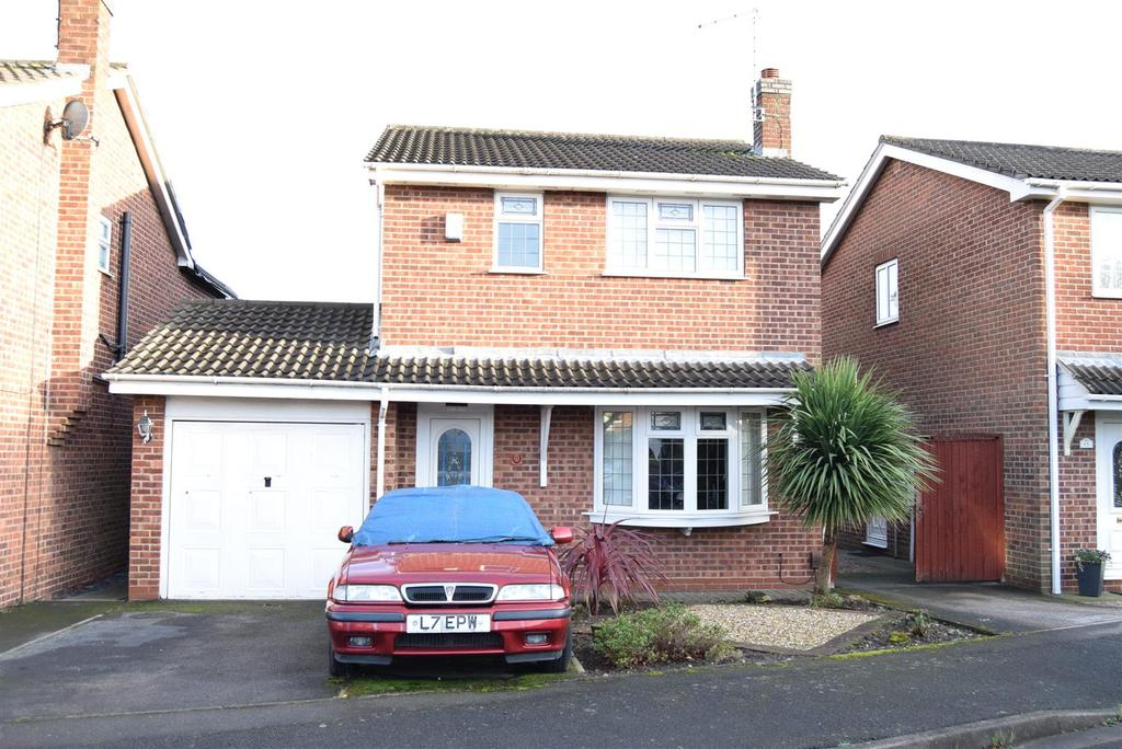 3 Bedrooms House for sale in Goldfinch Close, Mansfield