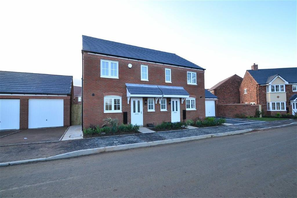 3 Bedrooms Semi Detached House for rent in Squinter Pip Way, Bowbrook Meadows, Shrewsbury