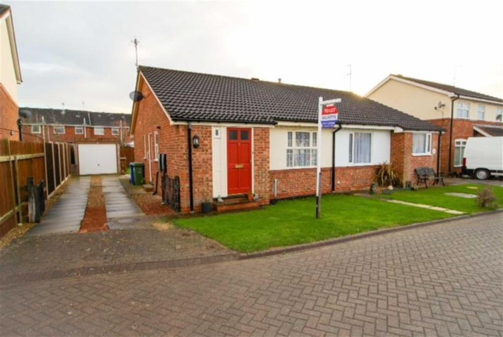 2 Bedrooms Semi Detached Bungalow for sale in The Paddocks, Driffield, East Yorkshire