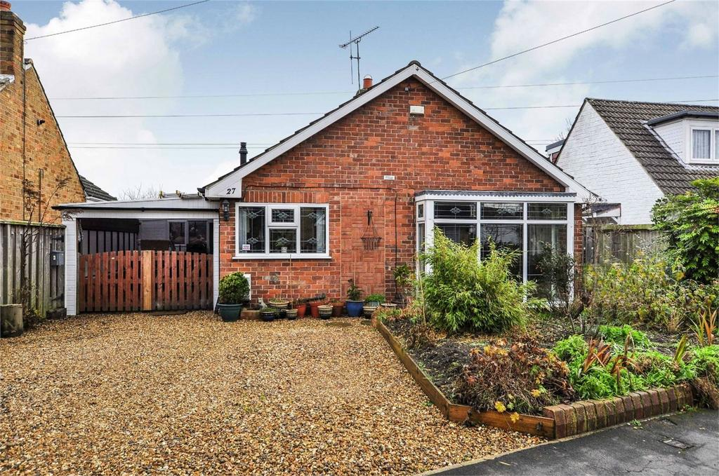 2 Bedrooms Detached Bungalow for sale in Galtres Road, Stockton Lane, York