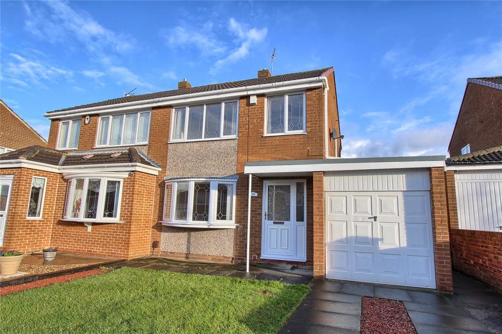 3 Bedrooms Semi Detached House for sale in Keilder Rise, Hemlington