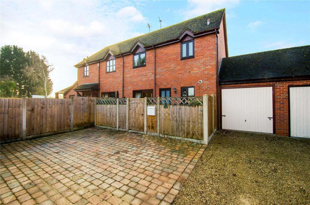 3 Bedrooms Semi Detached House for sale in Tibberton, Droitwich, Worcestershire