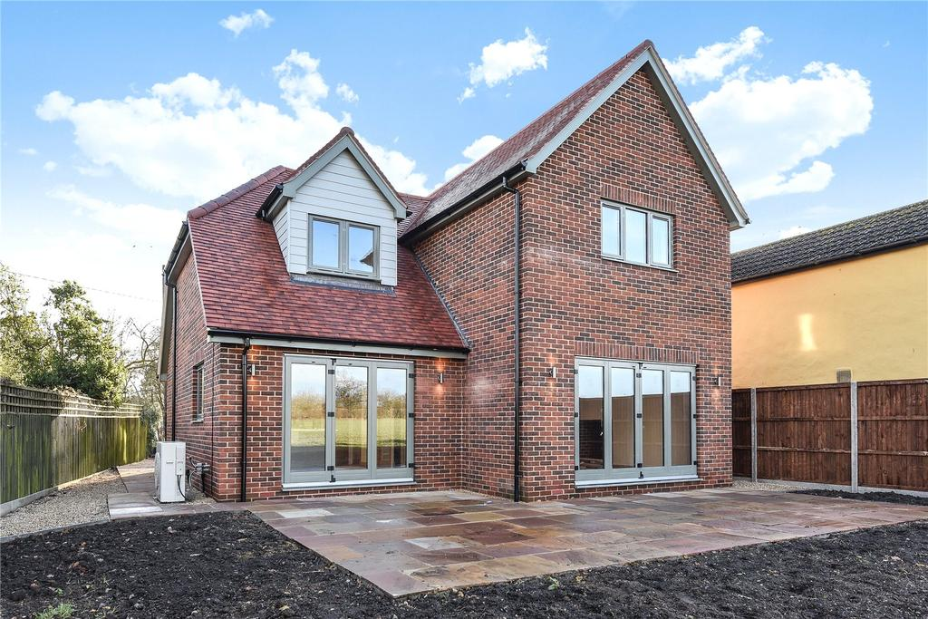4 Bedrooms Detached House for sale in Nunnery Green, Wickhambrook, Newmarket, Suffolk, CB8