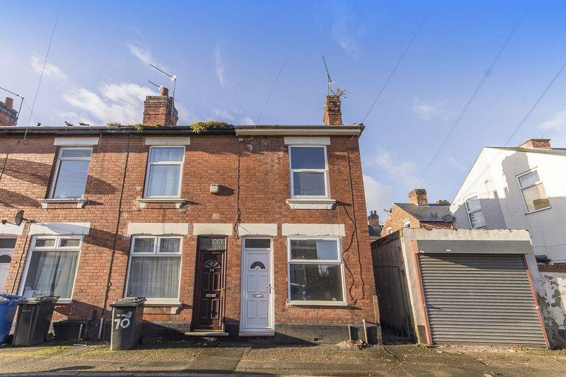 2 Bedrooms End Of Terrace House for sale in MEYNELL STREET, DERBY.