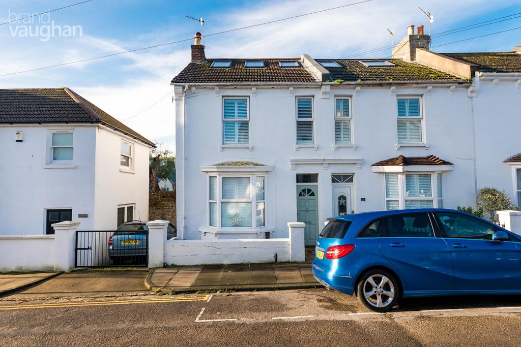 3 Bedrooms End Of Terrace House for sale in Gerard Street, Brighton, BN1