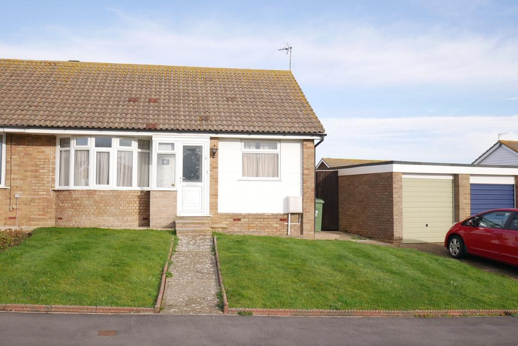 2 Bedrooms Semi Detached Bungalow for sale in Woodpecker Road, Langney, Eastbourne, BN23
