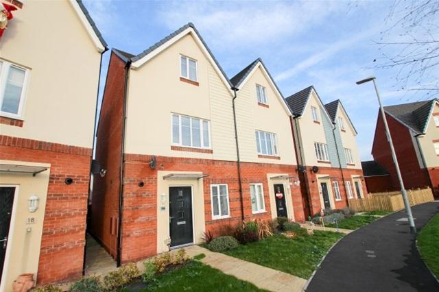 4 Bedrooms Semi Detached House for sale in Kings Walk, Bridgwater