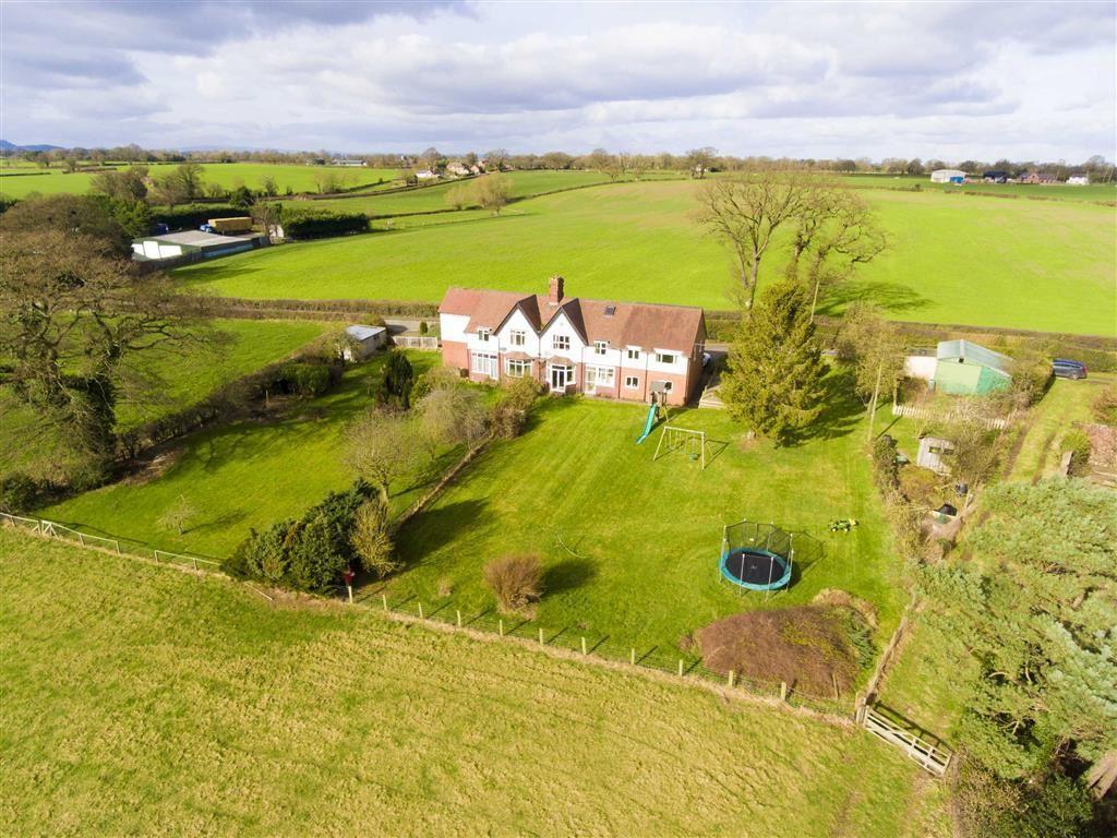 5 Bedrooms Semi Detached House for sale in Nox Bank, Cruckton, Shrewsbury, Shropshire