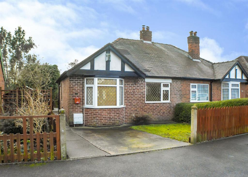 2 Bedrooms Semi Detached Bungalow for sale in Woodland Drive, Mansfield
