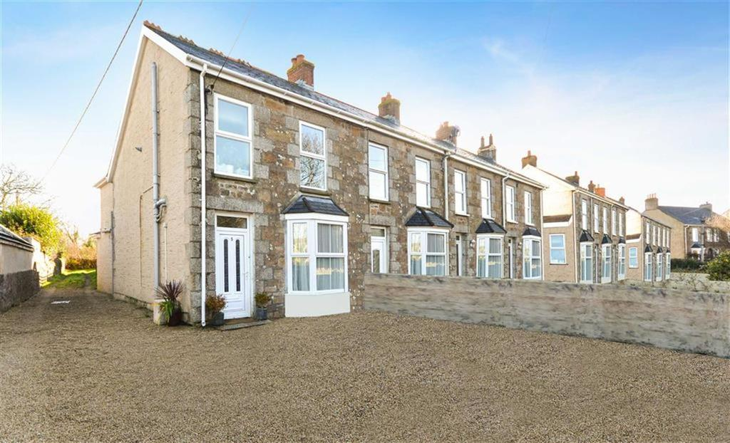 3 Bedrooms Semi Detached House for sale in Treslothan Road, Troon, Camborne, Cornwall, TR14