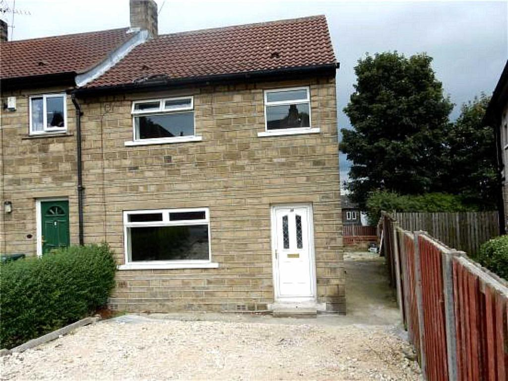 3 Bedrooms End Of Terrace House for sale in Highcroft Crescent, Almondbury, Huddersfield, HD5