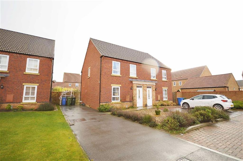 3 Bedrooms Semi Detached House for sale in Forge Close, Cayton