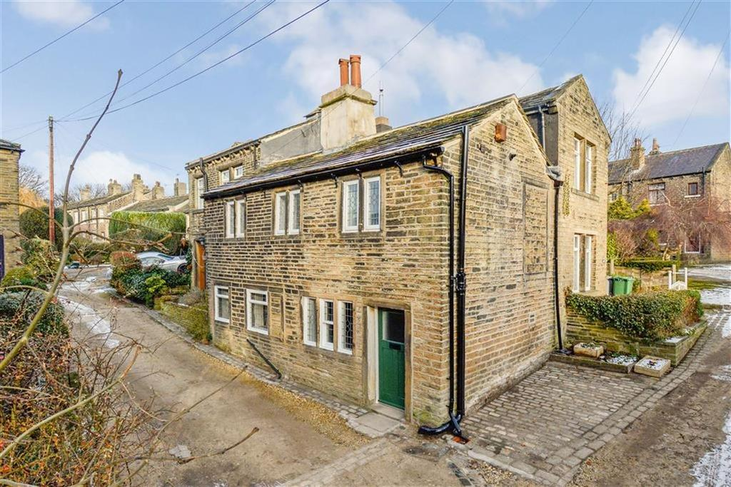 2 Bedrooms End Of Terrace House for sale in Quarmby Fold, Quarmby, Huddersfield, HD3