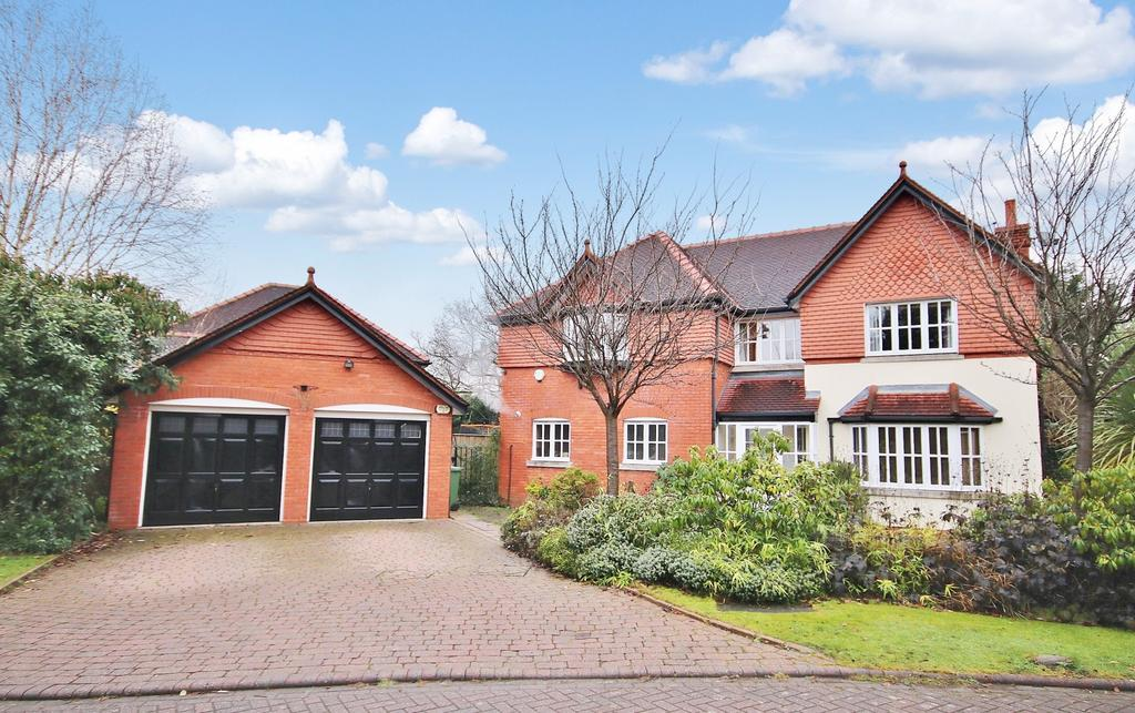 4 Bedrooms Detached House for sale in Knightsbridge Close, Wilmslow SK9 2GQ
