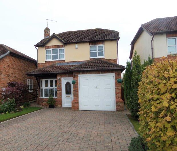 3 Bedrooms Detached House for sale in BROCKWELL CLOSE, FISHBURN, SEDGEFIELD DISTRICT