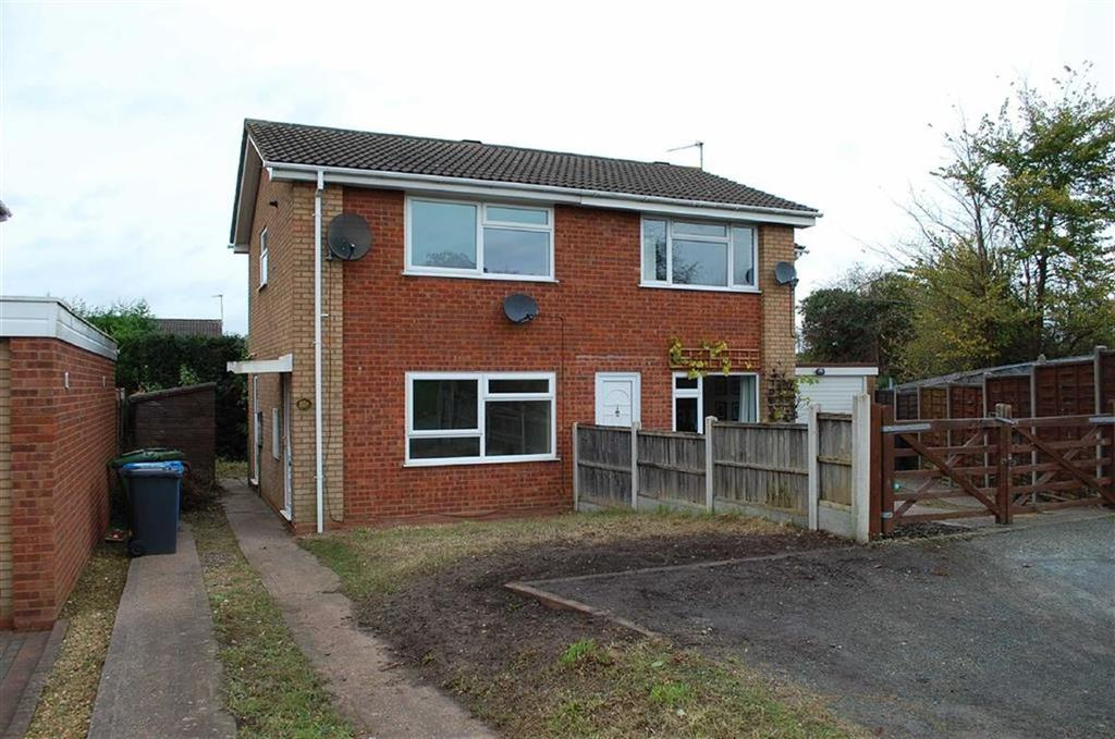 2 Bedrooms Semi Detached House for rent in 85b, Common Road, Wombourne, Wolverhampton, WV5
