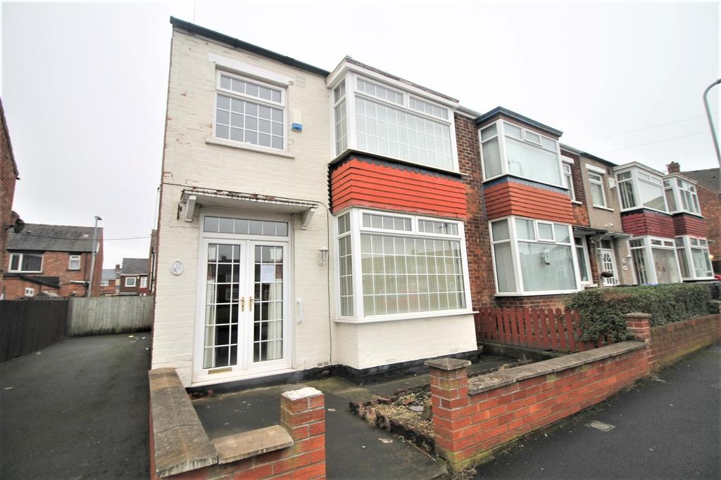 3 Bedrooms End Of Terrace House for sale in Stratford Crescent, Middlesbrough