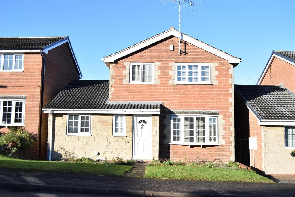 3 Bedrooms Detached House for sale in Heatherley Drive, Forest Town