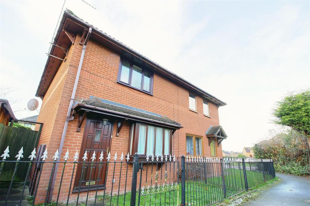 3 Bedrooms Semi Detached House for sale in Canon Hudson Close, Coventry