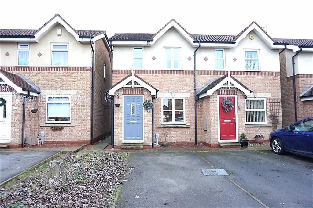 2 Bedrooms Semi Detached House for sale in Bishop Kempthorne Close, Hessle, Hull, HU13