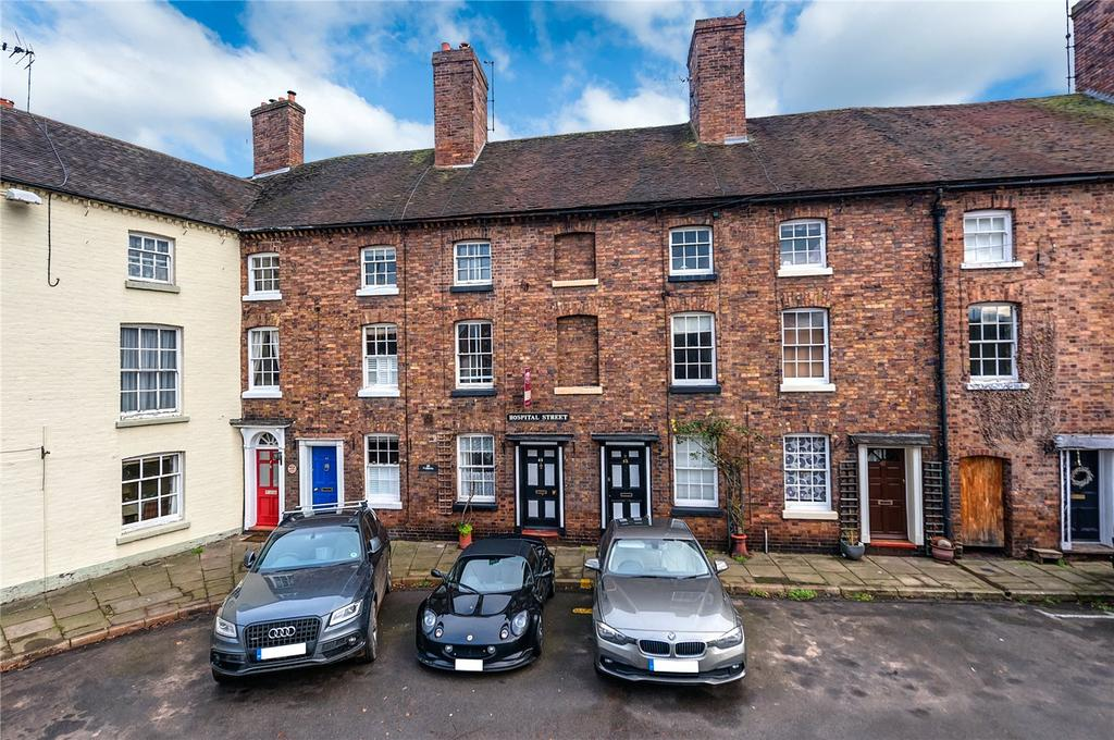 3 Bedrooms Terraced House for sale in Hospital Street, Bridgnorth, Shropshire