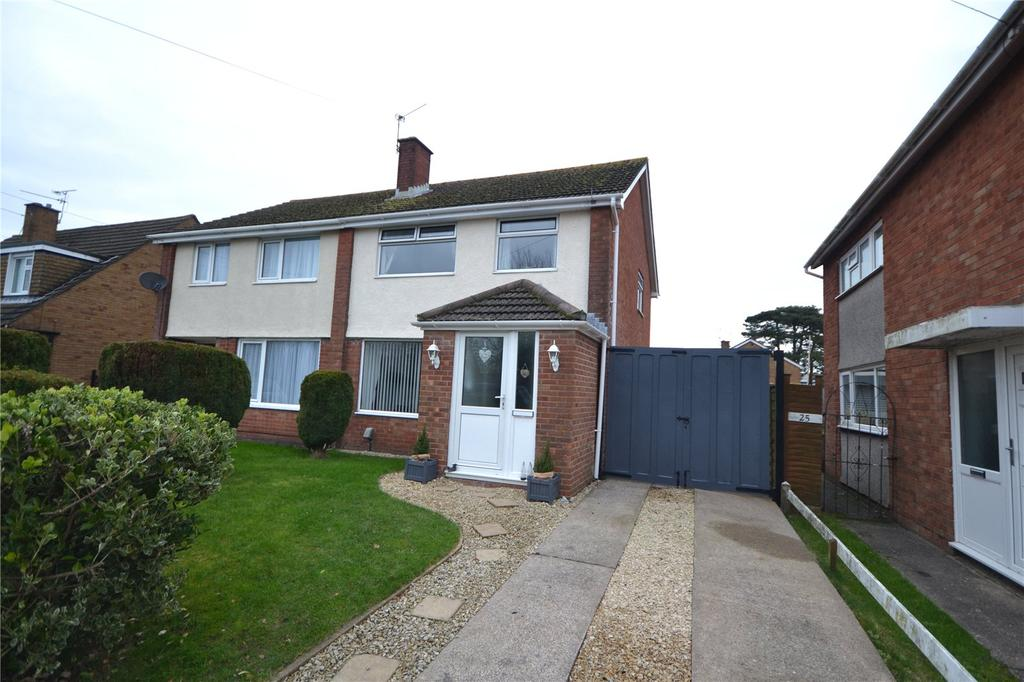 3 Bedrooms Semi Detached House for sale in Monkstone Rise, Rumney, Cardiff, CF3