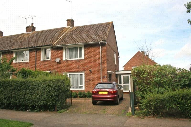 2 Bedrooms End Of Terrace House for sale in Homestead Lane, Welwyn Garden City, Hertfordshire