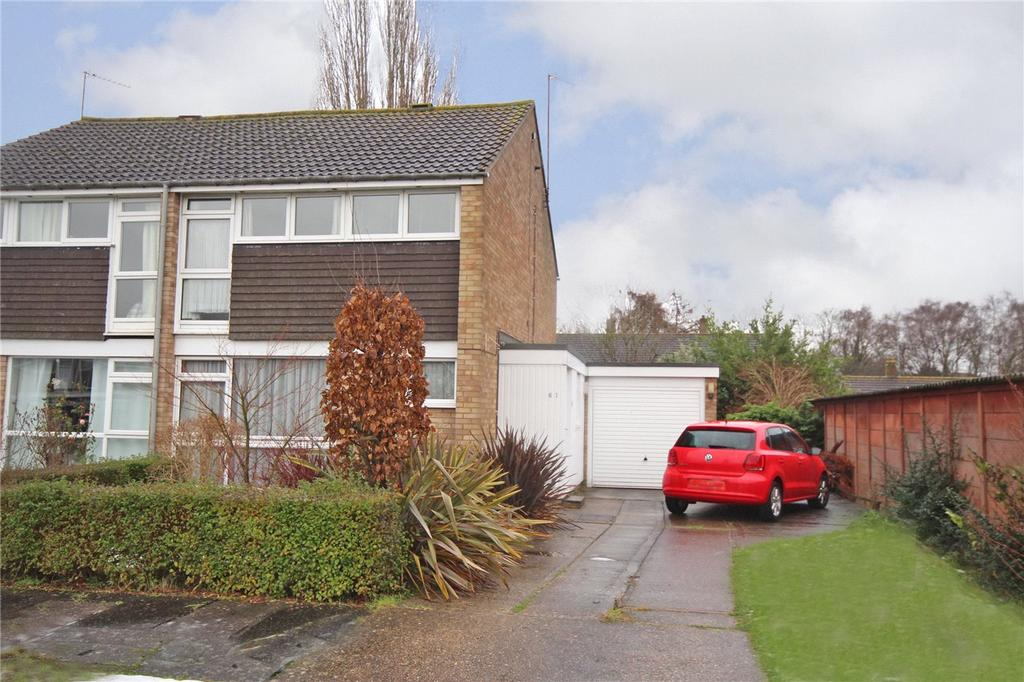 3 Bedrooms End Of Terrace House for sale in Marsden Green, Welwyn Garden City, Hertfordshire