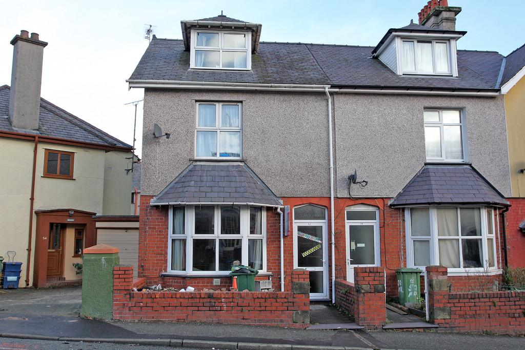 5 Bedrooms End Of Terrace House for sale in Farrar Road, Bangor, North Wales