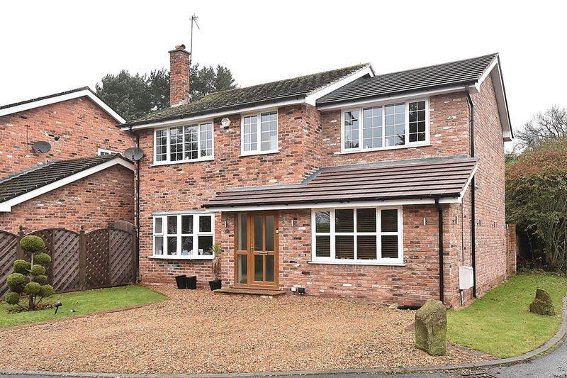 4 Bedrooms Detached House for sale in Carlisle Close, Mobberley