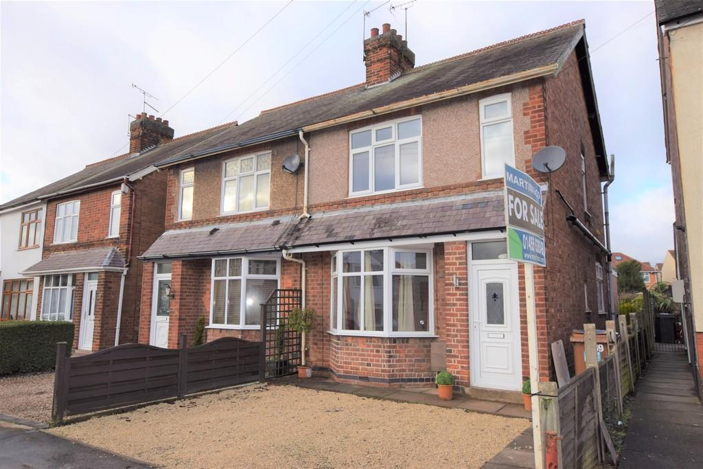 3 Bedrooms Semi Detached House for sale in Forest Road, Hinckley