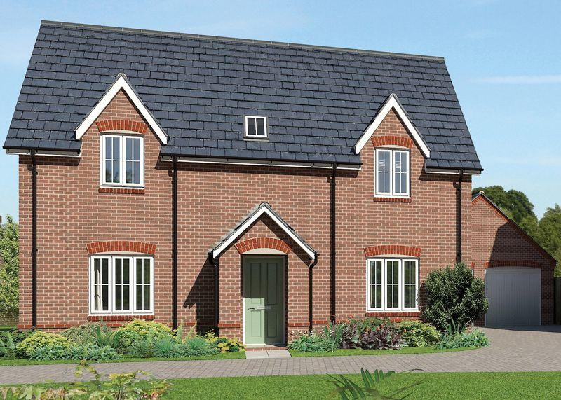 4 Bedrooms Detached House for sale in SHOWHOME: The Kelmscott - Plot 9 at Downsview Park