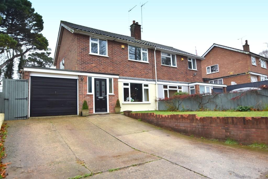 3 Bedrooms Semi Detached House for sale in Ancaster Road, Ipswich, IP2 9AJ