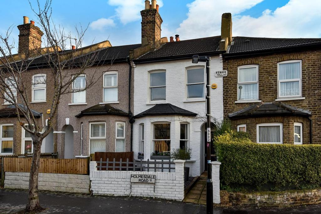 2 Bedrooms Terraced House for sale in Holmesdale Road, South Norwood