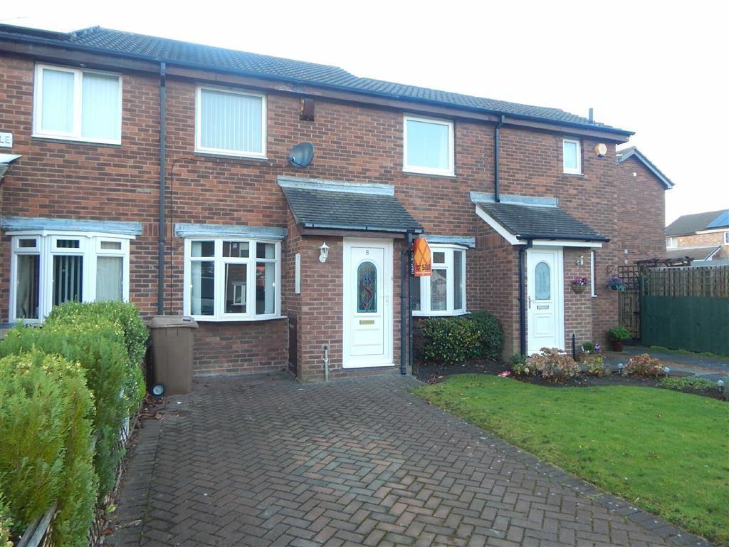 2 Bedrooms Terraced House for sale in Bishopdale, Hadrian Lodge West, Wallsend, NE28