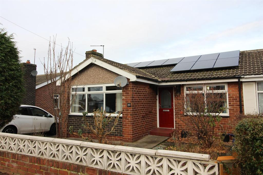 2 Bedrooms Semi Detached Bungalow for sale in Tillmouth Avenue, Holywell, Whitley Bay