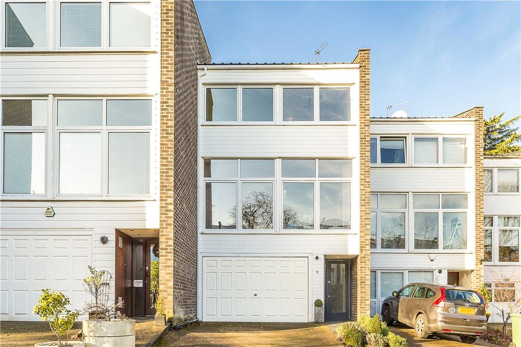 5 Bedrooms Terraced House for sale in Cedar Court, Somerset Road, London, SW19