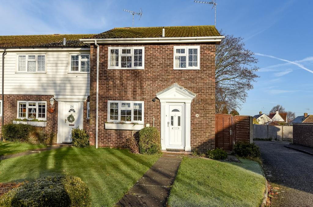 3 Bedrooms End Of Terrace House for sale in Leopold Close, Felpham, Bognor Regis, PO22