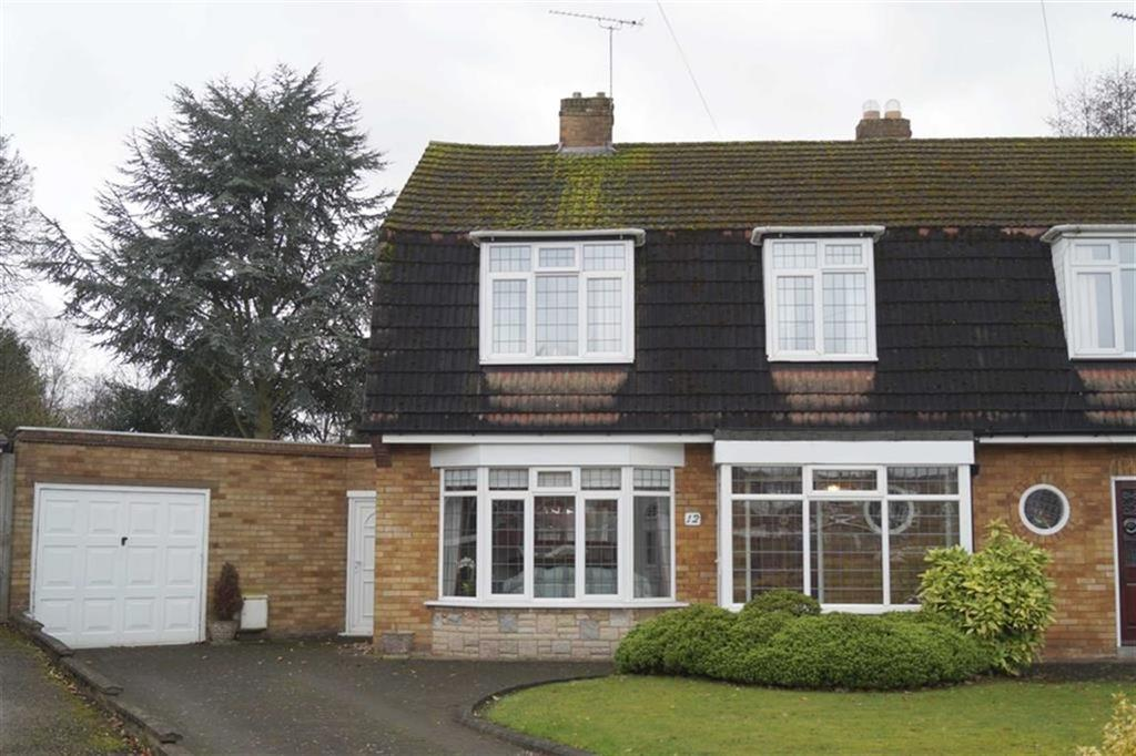 3 Bedrooms Semi Detached House for sale in Wetherby Close, Fordhouses, Wolverhampton