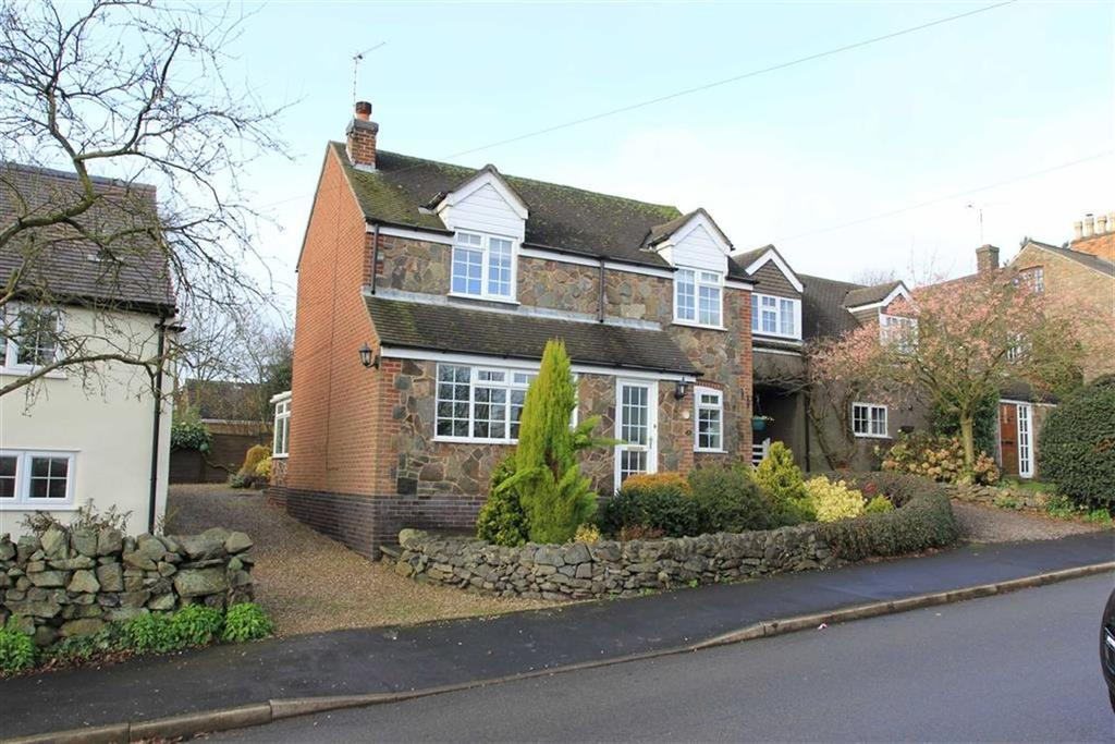 3 Bedrooms Detached House for sale in The Green, Markfield, Leicestershire